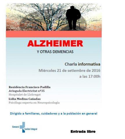 Conferencia informativa sobre el Alzheimer y otras demencias